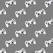 Game controller on gray