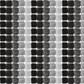 Ink squares, black