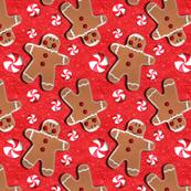 Gingerbread Cookies Peppermint Candies