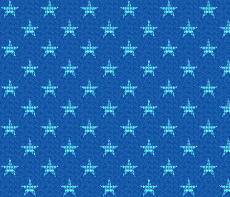 Royal Stars fabric by twigsandblossoms on Spoonflower - custom fabric