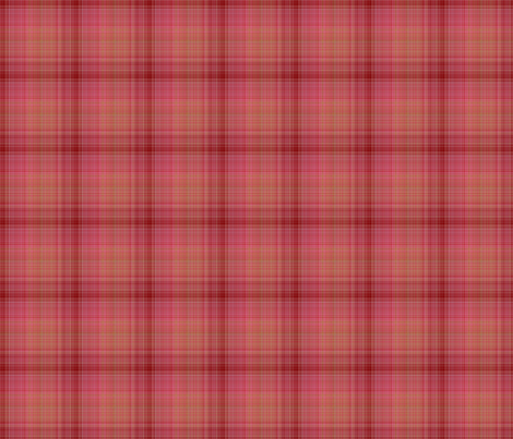 SPICED PLAID COORDINATE CUPCAKES fabric by floweryhat on Spoonflower - custom fabric