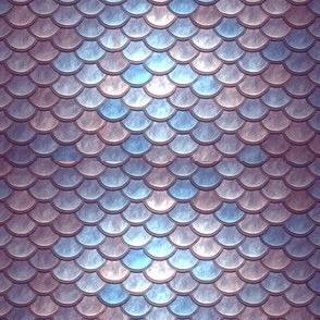 PINK PURPLE METALLIC SCALES