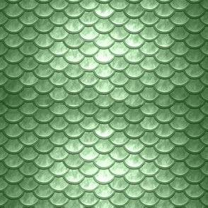 GREEN METALLIC SCALES