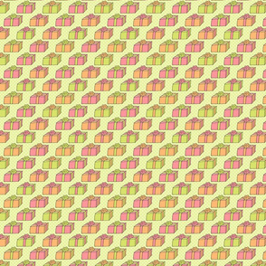Wrapped Gift Pattern - Pastel
