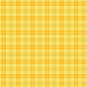 Yellow Plaid Pattern