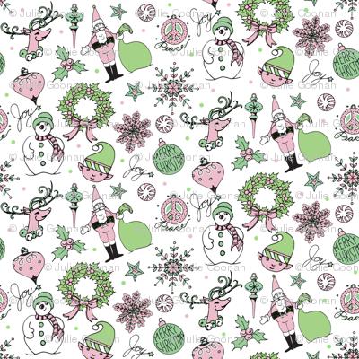 Christmas-half-drop-pattern