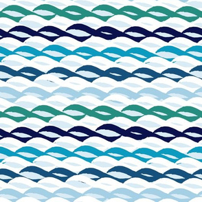Blockprint Waves