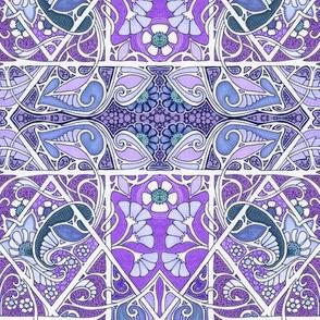 Pack of Purple Posies