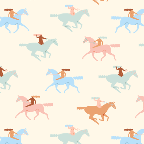 Naked derby fabric by tasiania on Spoonflower - custom fabric