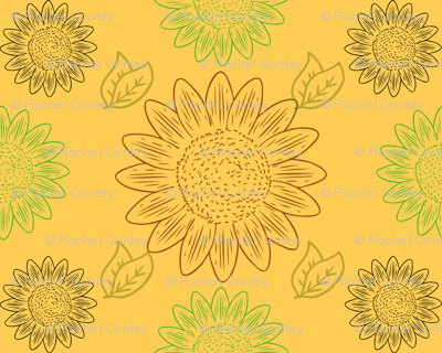 Sunflower-scribble_preview