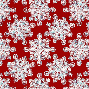 Rustic_white-Doily_red