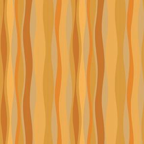 ginger apricot stripes