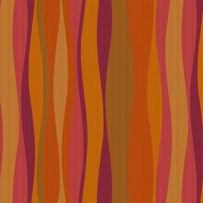 ginger mulberry stripes