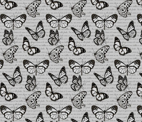 PIPILLON fabric by deep-creations on Spoonflower - custom fabric