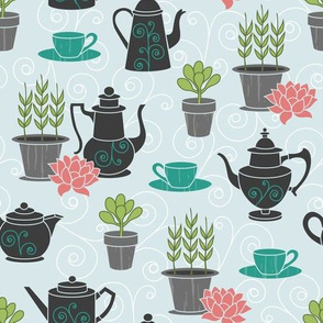 Tea with Plants