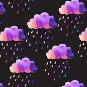 Black and Purple Acid clouds