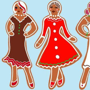 Well bread ladies gingerbread girls
