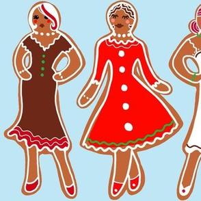 Well bread ladies gingerbread girls