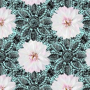 Rustic_white_Dahlia_black_lace_mint