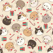 Christmas Happy Cats