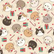 Christmas Happy Cats