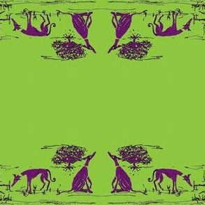 "Bush_hounds1_Purple on lime_for_2""_collars"