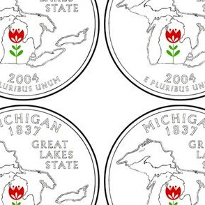 michigan-quarter tulip