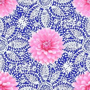 Rustic_pink_Dahlia_white_lace_cobalt