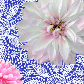 Rustic_pink_white_Dahlias_white_lace_cobalt