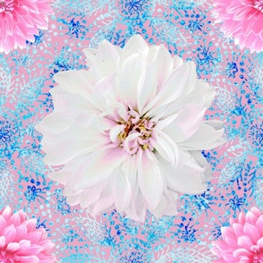 Rustic_pink_white_Dahlias_blue_lace_dustypink