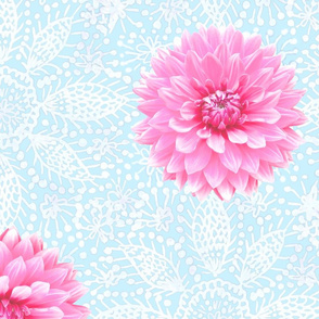 Rustic_pink_Dahlia_white_lace_skyblue