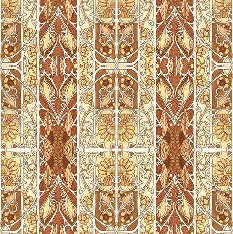 Autumn Stripe  fabric by edsel2084 on Spoonflower - custom fabric