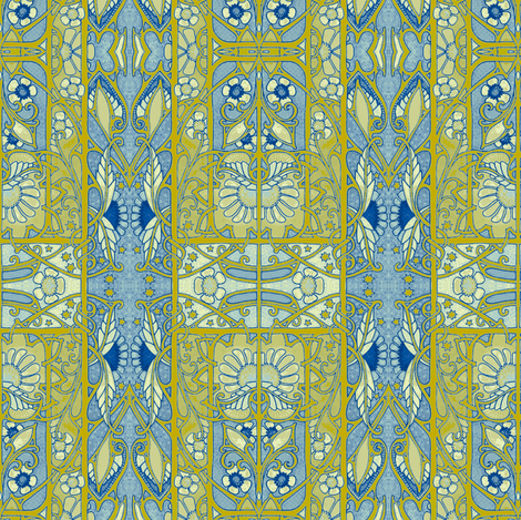 New Years Day 1911 fabric by edsel2084 on Spoonflower - custom fabric