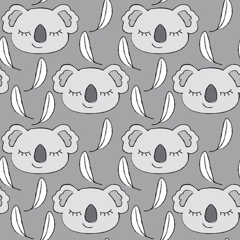 Rkoalas-grey-and-white-on-charcoal_shop_preview