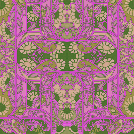 Save Me a Slice of Sixties, Please fabric by edsel2084 on Spoonflower - custom fabric