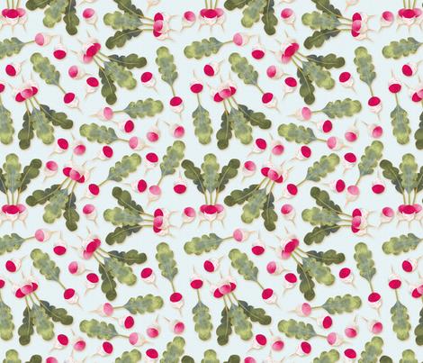 radis new motif fond ciel fabric by nadja_petremand on Spoonflower - custom fabric