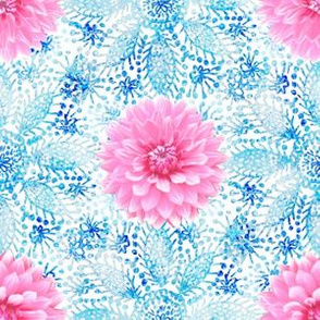 Rustic_pink_Dahlia_blue_lace_white