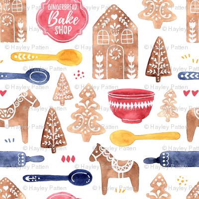 Gingerbread Bake Shop