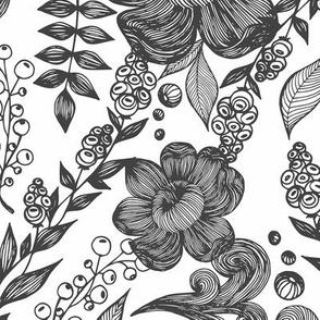 Linear flowers