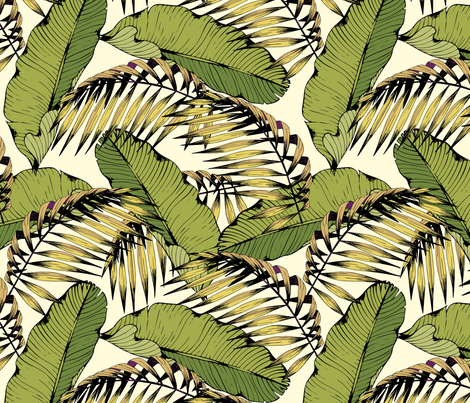 Tropics fabric by elonalaff on Spoonflower - custom fabric