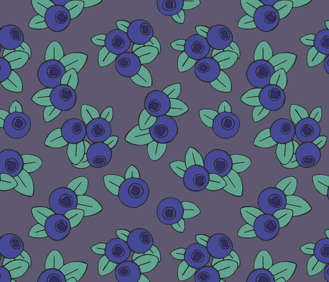Berries fabric by elonalaff on Spoonflower - custom fabric