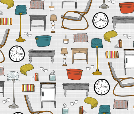 Hygge Home fabric by mrshervi on Spoonflower - custom fabric