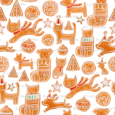 Holiday Cookies - © Lucinda Wei