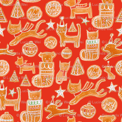 Holiday Cookie in Red - © Lucinda Wei