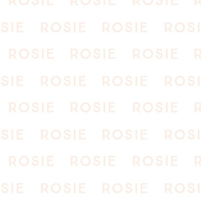 rosie fabric // blushy