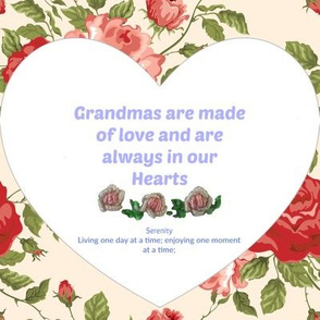 For you my grandma