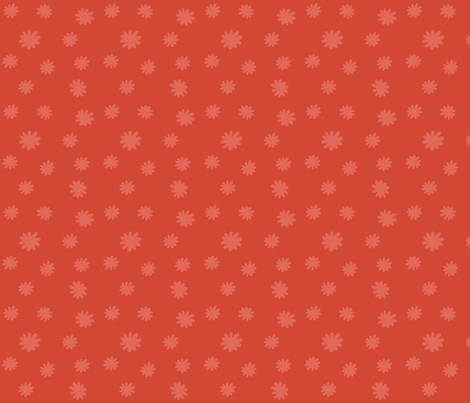 Red fluff fabric by toy_joy on Spoonflower - custom fabric