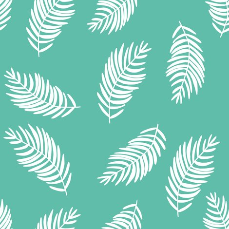 Rcoral-tropics-mix-and-match-leaves-aqua-and-white_shop_preview