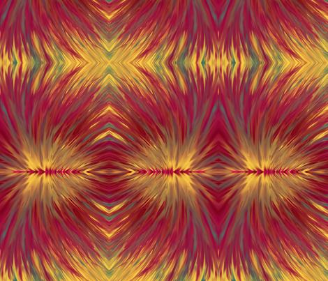 FlameFlower fabric by creativespaces on Spoonflower - custom fabric