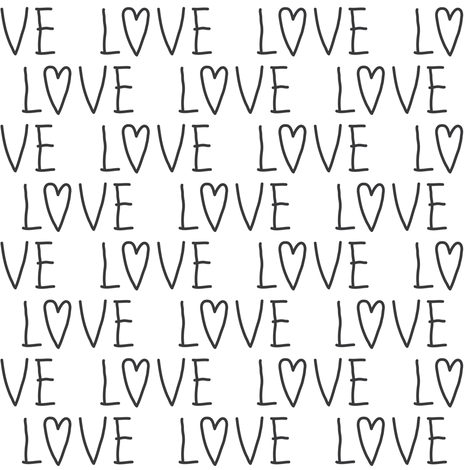 love fabric by lilcubby on Spoonflower - custom fabric